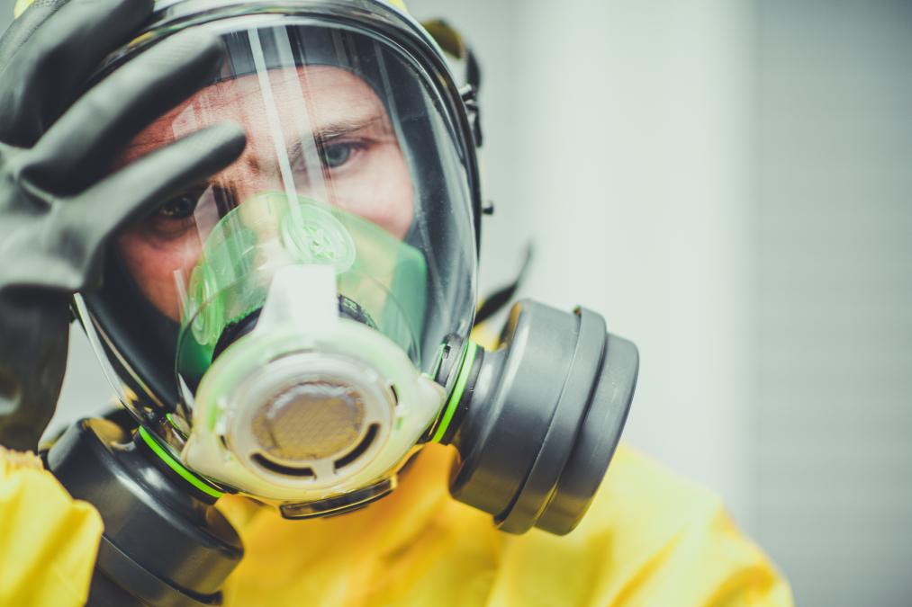 airborne disease control mask