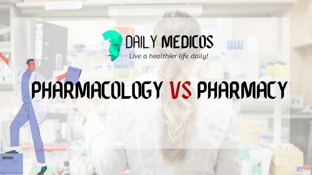 Pharmacology Vs pharmacy