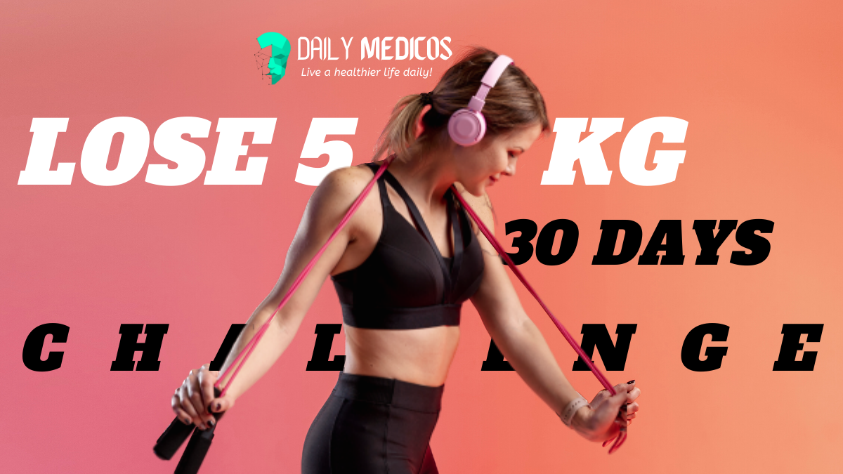 Lose 5 kg in 30 days: easy home exercises without equipment 1 - Daily Medicos
