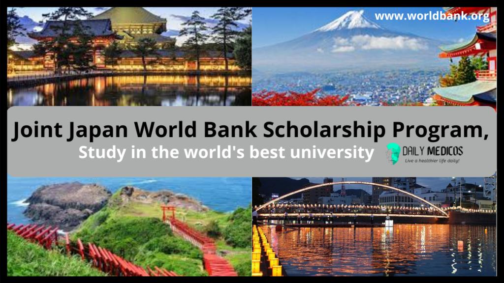 Joint Japan World Bank Scholarship Program 2021 – Fully Funded 3 - Daily Medicos
