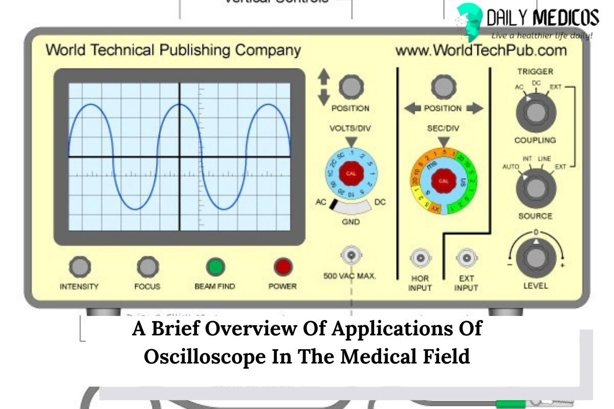 A Brief Overview Of Applications Of Oscilloscope In The Medical Field 1 - Daily Medicos