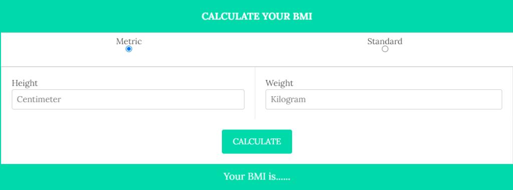 BMI Calculator 2 - Daily Medicos