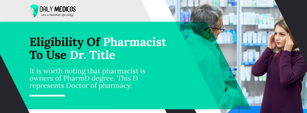 Are Pharmacists Doctors? 2 - Daily Medicos