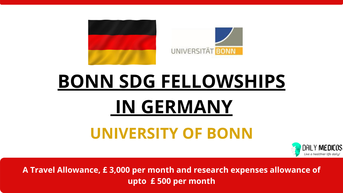 Bonn SDG Fellowships 2021 in Germany 8 - Daily Medicos