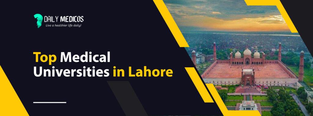 Top 10 Medical Universities in Pakistan 2021 - List of All The Medical Universities in Pakistan 6 - Daily Medicos