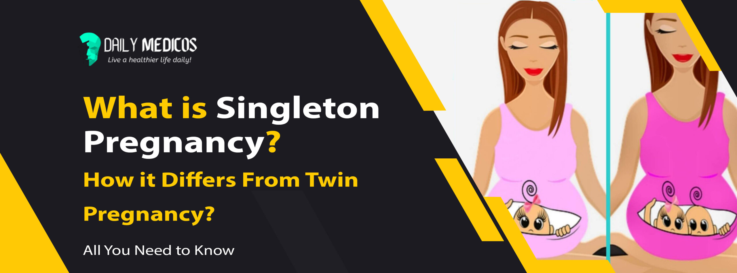 What is Singleton Pregnancy and How it Differs From Twin Pregnancy? [All You Need to Know] 1 - Daily Medicos