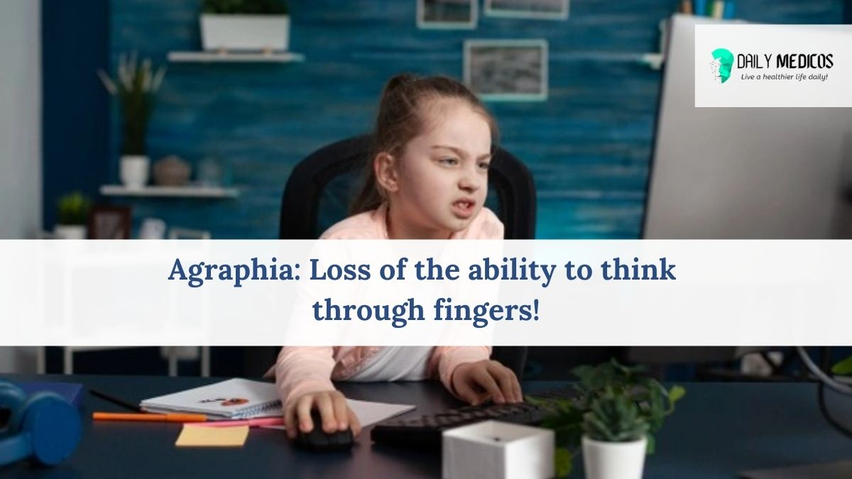 What is Agraphia or Aphasia 1 - Daily Medicos