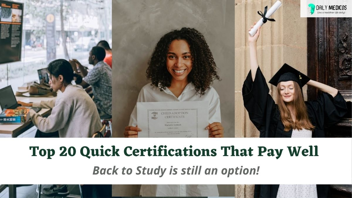 Top 20 Quick Certifications That Pay Well